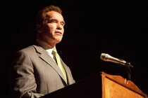 California Gov. Arnold Schwarzenegger