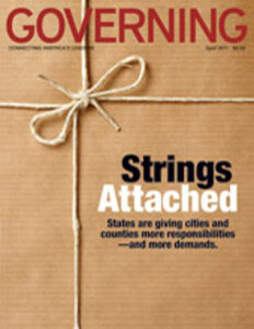 Governing magazine April 2011 issue