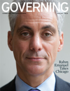 June 2011 Governing cover of Chicago Mayor Rahm Emanuel