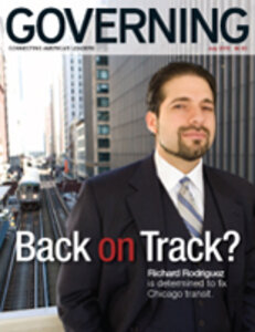 Governing magazine July issue cover
