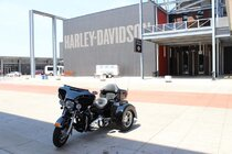 The Harley-Davidson Museum in Milwaukee began as a small business with only a handful of employees.