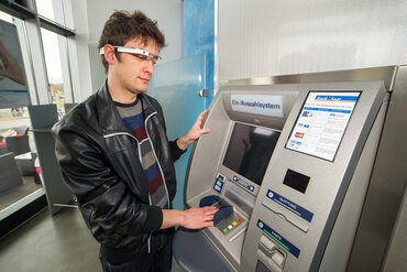Google Glass at the ATM?