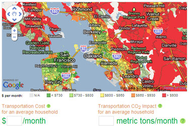 Abogo map of San Francisco bay area