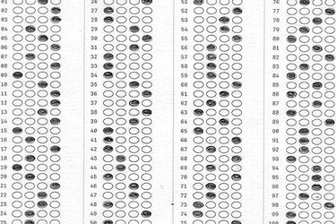 Assessment test answer sheet