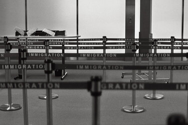 Immigration waiting area