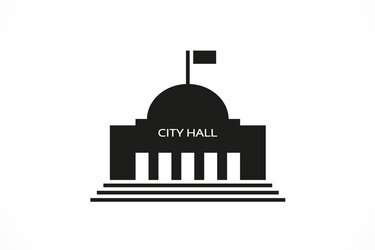 A generic city hall