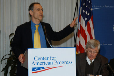 Health policy advisor Ezekiel Emanuel, left, is one of the author's of the proposal.