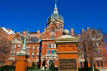 Johns Hopkins Hospital in Baltimore, Md.