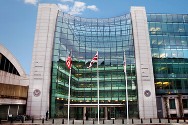 The Securities and Exchange Commission headquarters in Washington, D.C.