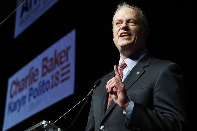Massachusetts GOP Gov. Charlie Baker