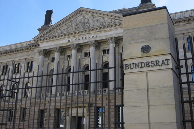 The building where Germany's 16 states meet in Berlin.