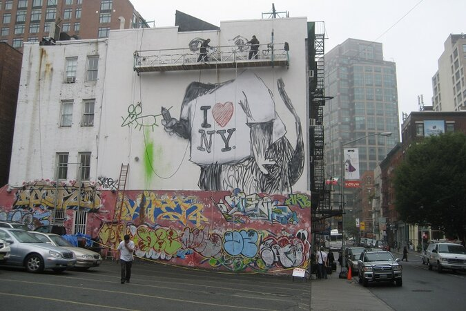 Mural in NYC