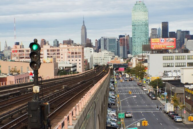 Queens Boulevard in New York City