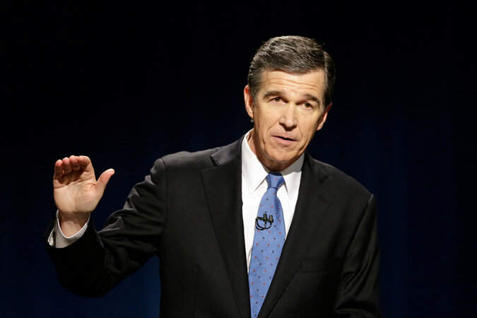 North Carolina Gov. Roy Cooper