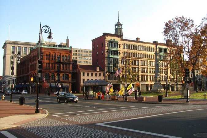 Downtown Springfield, Mass.