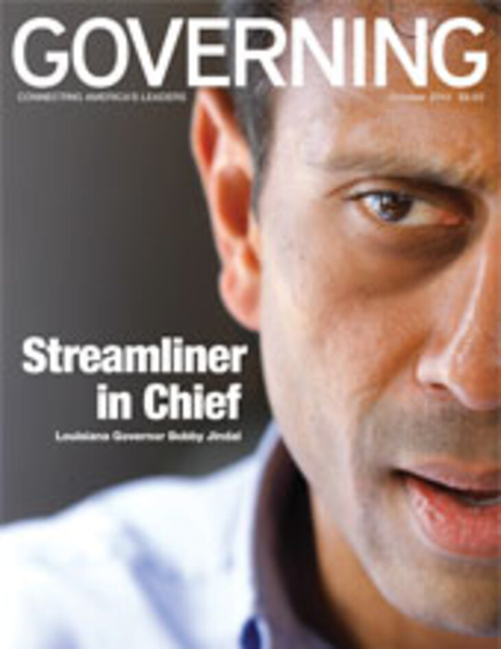 GOVERNING Magazine October 2010 Issue Cover