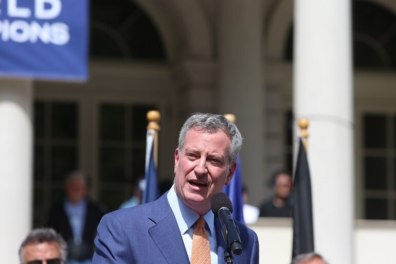 HEIR APPARENT: DeBlasio Chooses Bernie To Swear Him In For Mayor