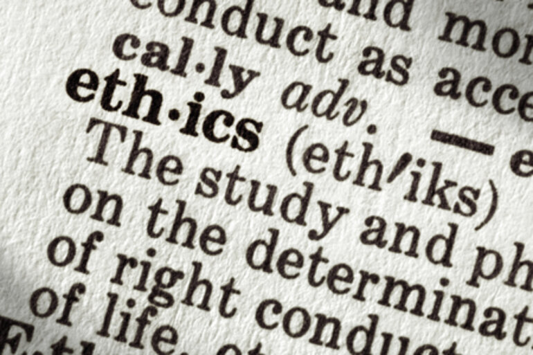 Ethics dictionary definition