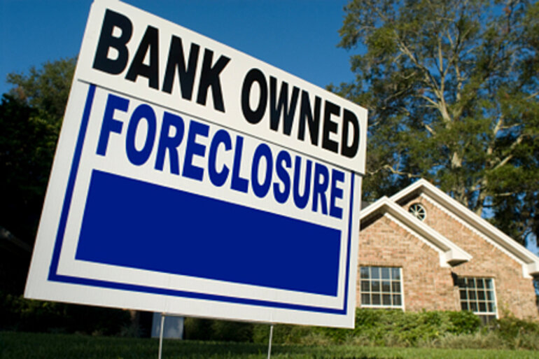 Bank-owned home foreclosure