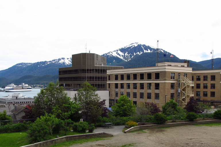 The Alaska State Capitol in Juneau