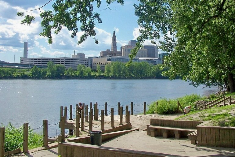Standard & Poor's revised its outlook for Hartford, Conn.'s credit from stable to negative.