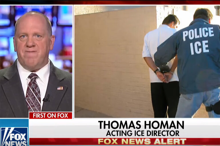 Acting ICE Director Thomas Homan on FOX News