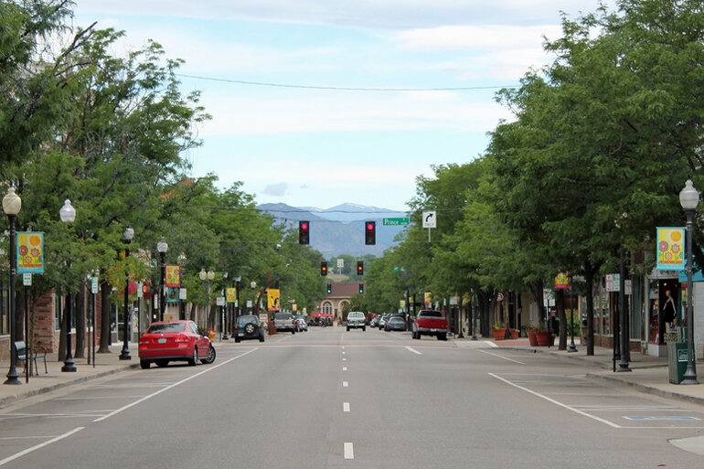 Downtown Littleton, Colo.
