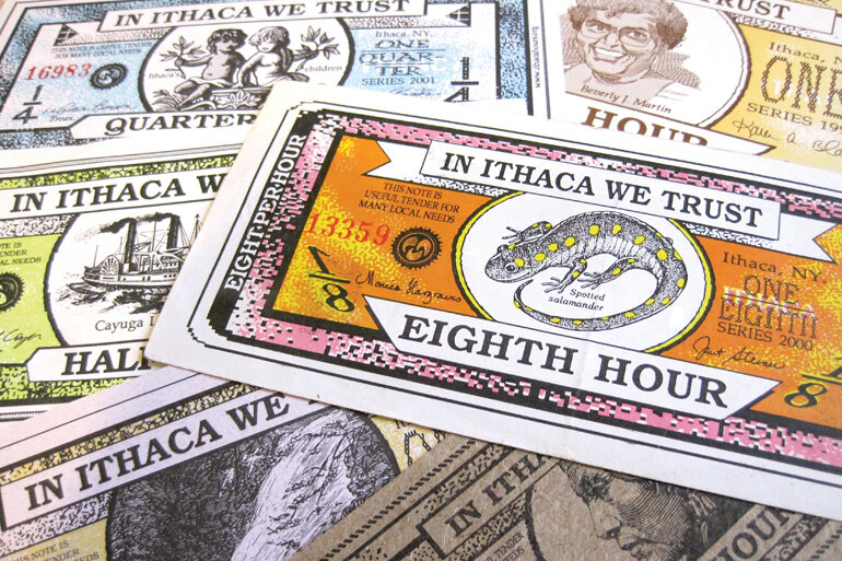 Ithaca Hours, the oldest local currency still in circulation.