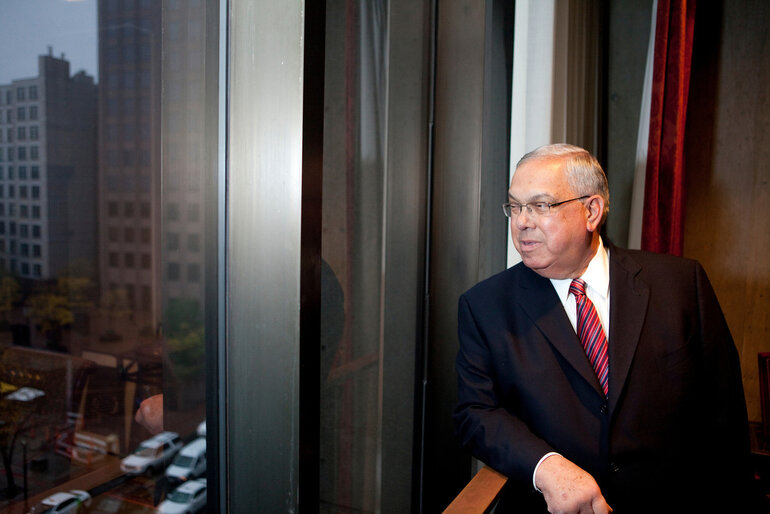 Boston Mayor Tom Menino in 2012