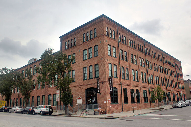 This abandoned tin-can manufacturing plant in north Baltimore was transformed into an LEED-certified mixed-use building featuring one-, two- and three-bedroom apartments in 2009.