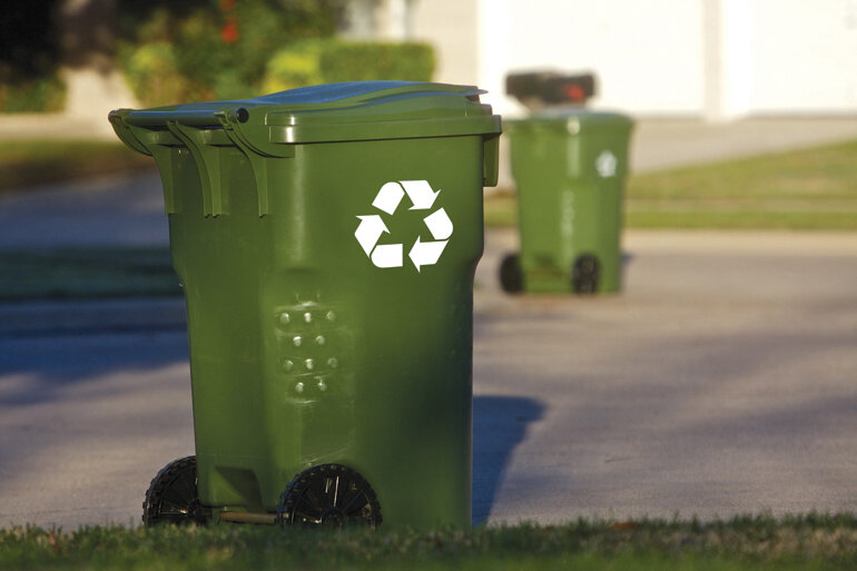 U.S. cities only effectively recycle about 30 percent of their trash, according to the Environmental Protection Agency.