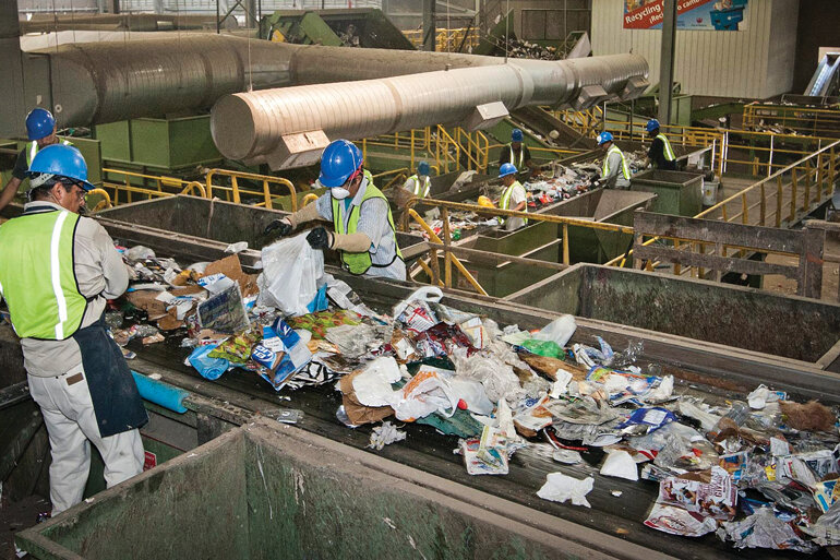 Phoenix's future waste innovation hub will be located near its recycling facility.