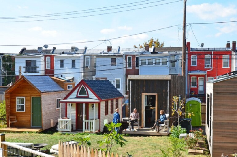 Tiny houses in Washington, D.C.