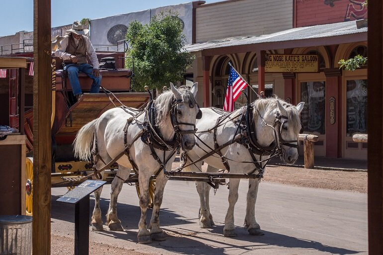 Tombstone, Ariz., which has battled with the federal government for years over water, is a historic city known for the preservation of its frontier town from the Old West.