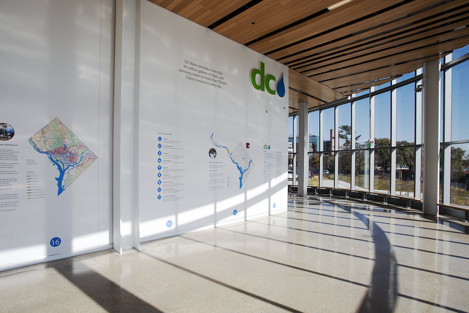 DC Water's Front Lobby