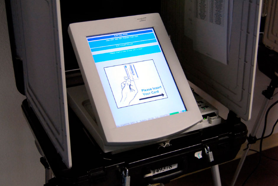 Electronic+voting+machine