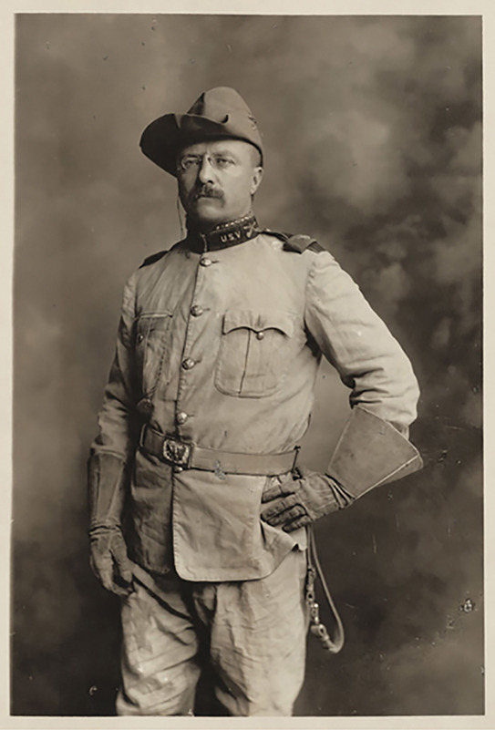 Theodore+Roosevelt+in+military+uniform